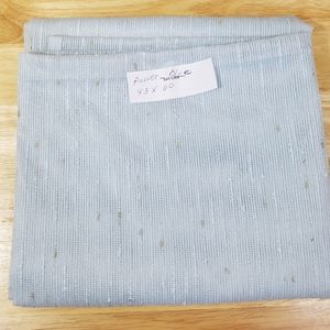 "Powder Blue Sheer Curtain Panel, sz 43"" W x 60"" L"